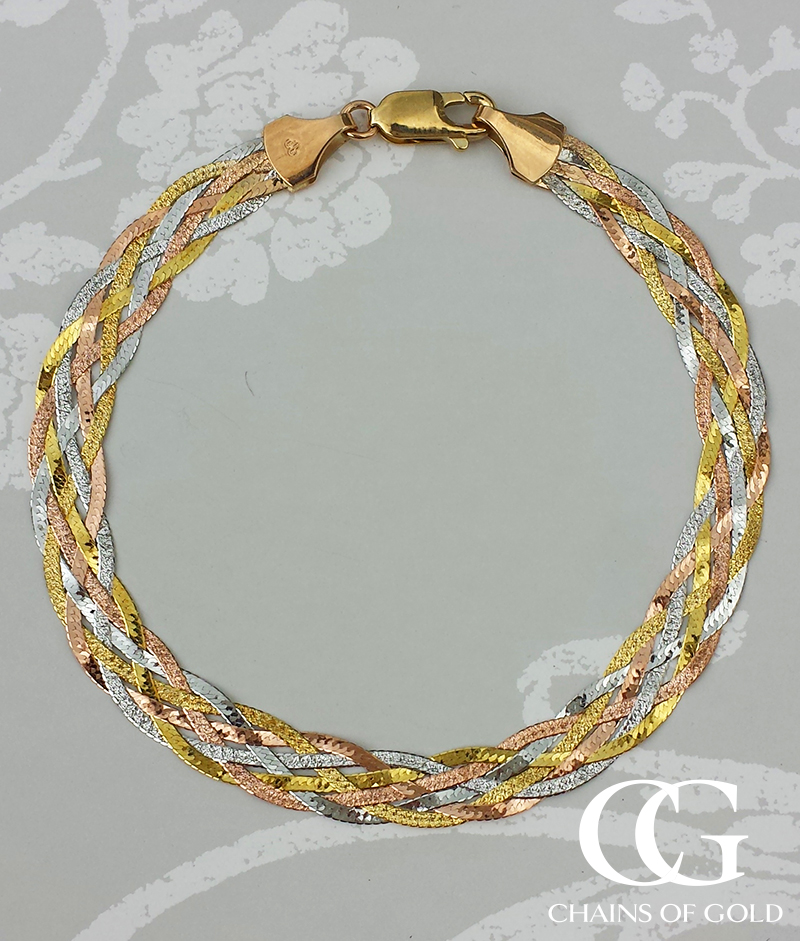 colour index gold michael levin necklace