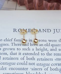 9ct Yellow Gold Ball Children's Stud Earrings