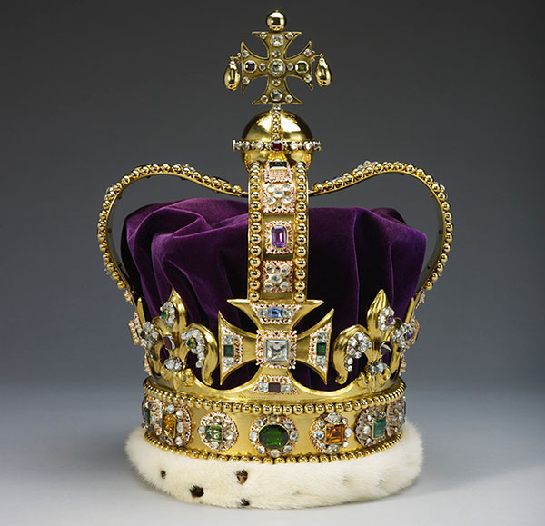St Edward's Crown, British Crown Jewels