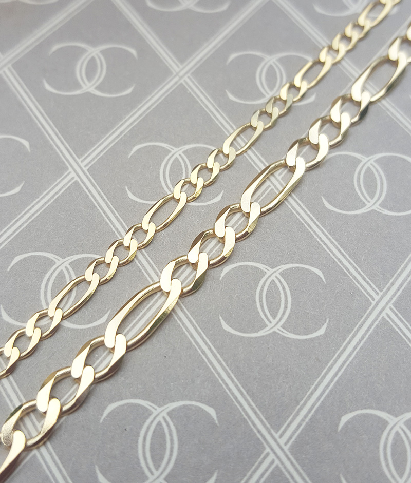 Figaro Chain Necklace for Men